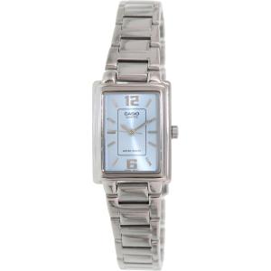 Casio Women's LTP1238D-2A Blue Stainless-Steel Quartz Watch