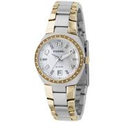 Fossil Women's AM4183 Silver Stainless-Steel Analog Quartz Watch