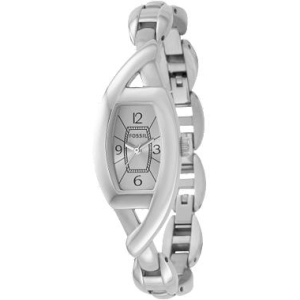 Fossil Women's ES2356 Silver Stainless-Steel Quartz Watch