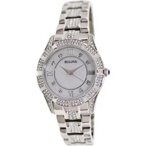 Open Box Bulova Women's Crystal Watch