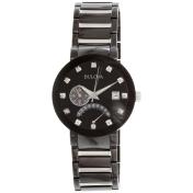 Bulova Men's 98D109 Black Stainless-Steel Quartz Watch