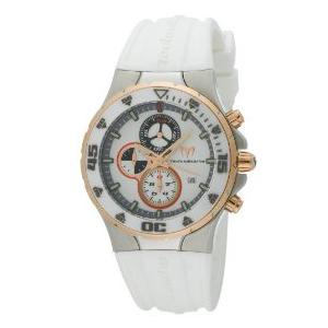 Technomarine Men's Men's Jubilee TM209001 White Resin Quartz Watch