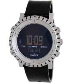 Suunto Men's Core Alu Black SS014280010 Digital Rubber Quartz Watch