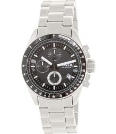 Fossil Men's Decker CH2600 Black Stainless-Steel Analog Quartz Watch