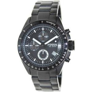 Fossil Men's Decker CH2601 Black Stainless-Steel Quartz Watch