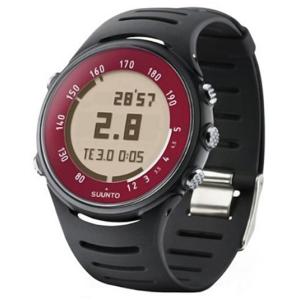 Suunto Men's t4c Black Volcano without Belt SS014364010 Digital Resin Quartz Watch