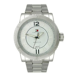 Tommy Hilfiger Men's 1790674 Silver Stainless-Steel Quartz Watch
