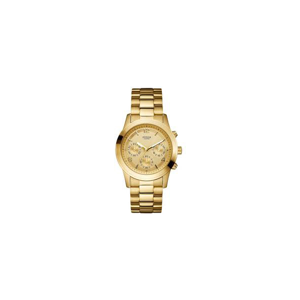 Guess Women's U13578L1 Gold Gold Tone Stainles-Steel Quartz Watch