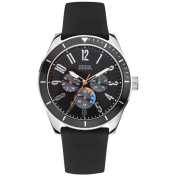 Guess Men's U95138G1 Black Rubber Quartz Watch