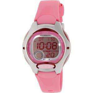 Casio Women's Core LW200-4BV Pink Resin Quartz Watch