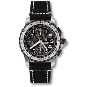 Victorinox Swiss Army Men's ALPNACH 241195 Black Leather Swiss Automatic Watch