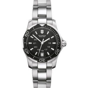 Victorinox Swiss Army Women's ALLIANCE 241305 Black Stainless-Steel Swiss Quartz Watch