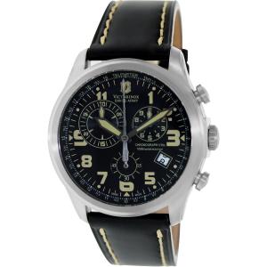Victorinox Swiss Army Men's INFANTRY 241314 Black Leather Swiss Quartz Watch
