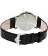 Bulova Men's Dress 96B104 Black Leather Quartz Watch - Back Image Swatch