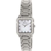 Bulova Women's 96R107 Mother-Of-Pearl Stainless-Steel Quartz Watch