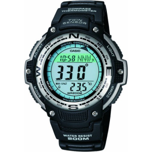 Casio Men's SGW100-1V Digital Rubber Quartz Watch