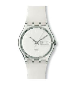 Swatch Men's Originals GK733 White Plastic Quartz Watch