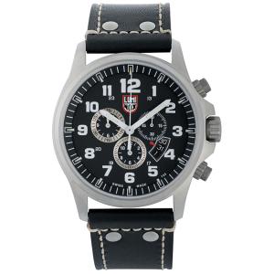 Luminox Men's Field Chrono 1888 Black Leather Quartz Watch