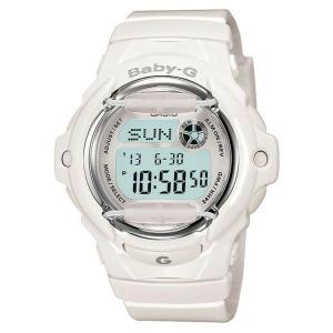 Casio Women's Baby-G BG169R-7A White Resin Quartz Watch