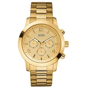 Guess Men's U15061G2 Gold Stainless-Steel Analog Quartz Watch