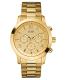 Guess Men's U15061G2 Gold Stainless-Steel Analog Quartz Watch - Main Image Swatch