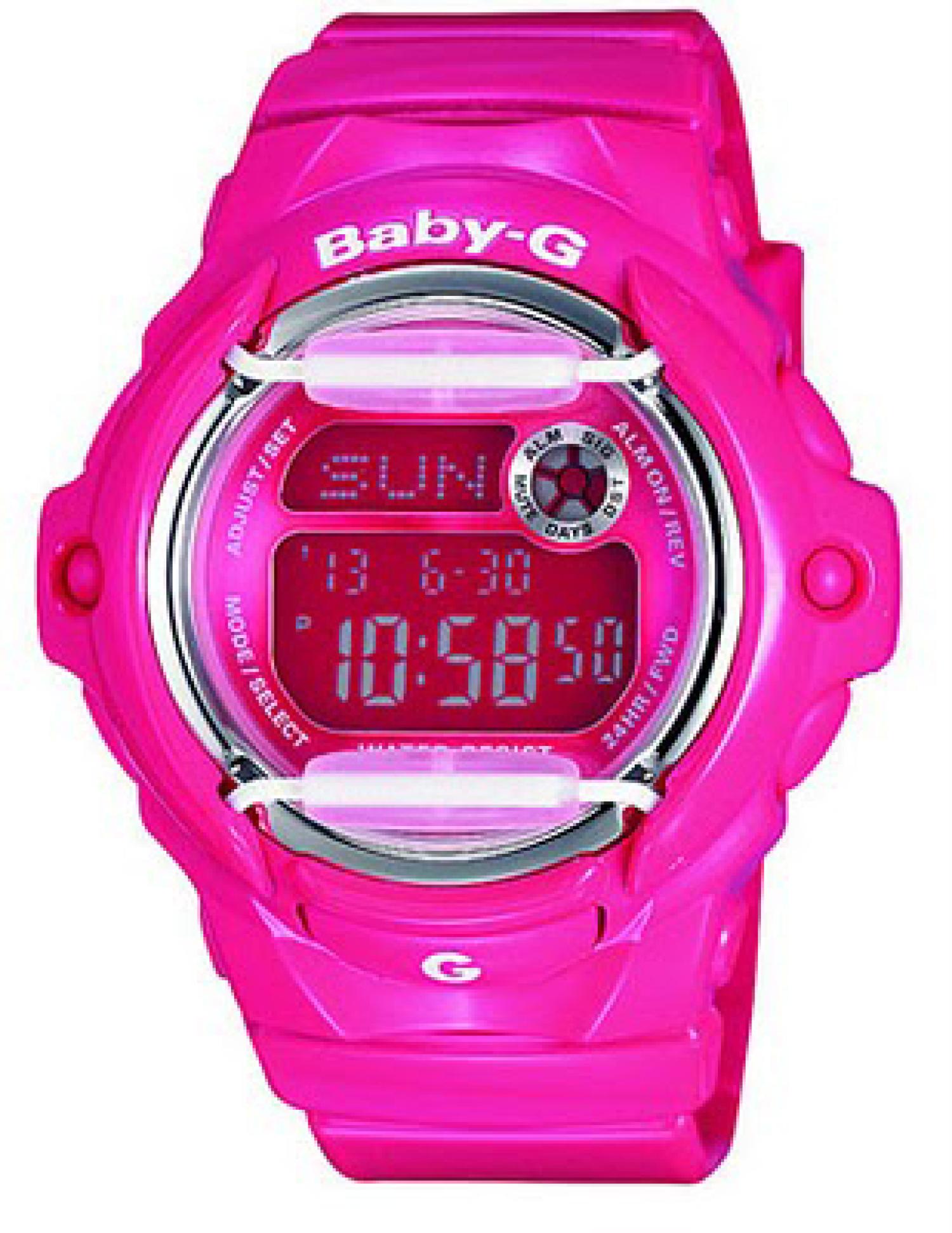 Casio_Womens_BG169R4B_Pink_Resin_Quartz_Sport_Watch
