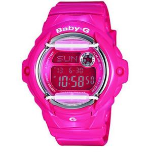 Casio Women's BG169R-4B Pink Resin Quartz Watch