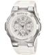 Casio Women's Baby-G BGA110-7B White Resin Quartz Watch - Main Image Swatch