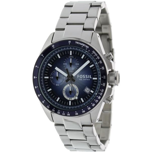 Fossil Men's Decker CH2589 Blue Stainless-Steel Analog Quartz Watch