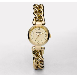Fossil Women's ES2651 Gold Gold Tone Quartz Watch