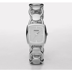 Fossil Women's ES2675 Silver Stainless-Steel Quartz Watch