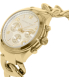 Michael Kors Women's Runway MK3131 White Stainless-Steel Quartz Watch - Side Image Swatch