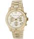 Michael Kors Women's Runway MK5055 Gold Stainless-Steel Analog Quartz Watch - Main Image Swatch
