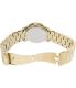 Michael Kors Women's Runway MK5055 Gold Stainless-Steel Analog Quartz Watch - Back Image Swatch
