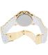 Michael Kors Women's Jet Set MK5145 Silver Silicone Quartz Watch - Back Image Swatch