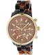 Michael Kors Women's Ritz MK5216 Brown Plastic Quartz Watch - Main Image Swatch