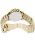 Michael Kors Men's Runway MK8077 Gold Stainless-Steel Quartz Watch - Back Image Swatch