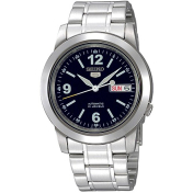 Seiko Men's 5 Automatic SNKE61K Blue Stainless-Steel Automatic Watch