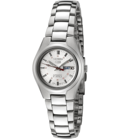 Seiko Women's 5 Automatic SYMC21K Silver Stainless-Steel Automatic Watch