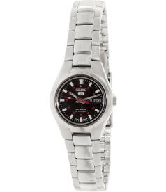 Seiko Women's 5 Automatic SYMC27K Black Stainless-Steel Automatic Watch
