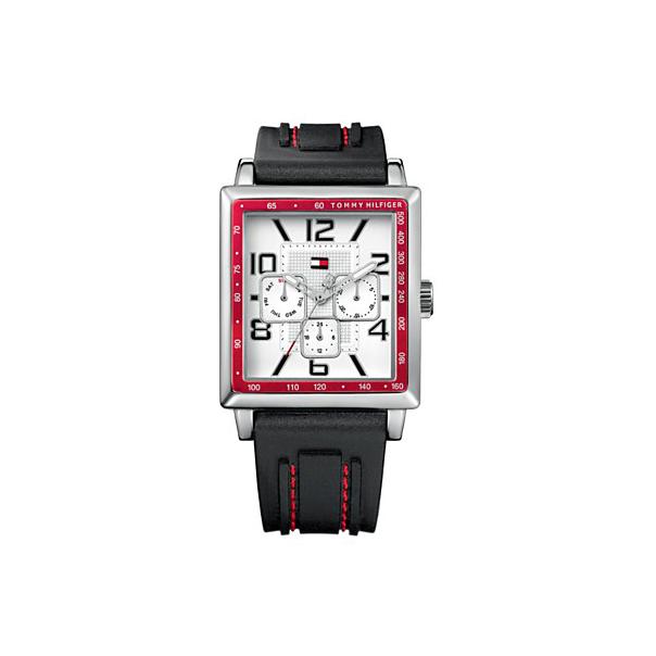 Tommy Hilfiger Men's 1790703 White Silicone Quartz Watch