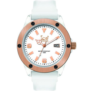 Ice-Watch Men's XXL XX.WE.XX.S.09 White Silicone Quartz Watch