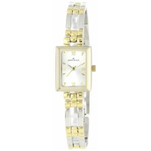 Anne Klein Women's 10-4899SVTT Silver Stainless-Steel Quartz Watch