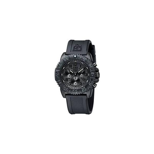 Luminox Men's 3081.BO Black Rubber Quartz Watch