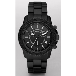 Fossil Men's CH2672 Black Stainless-Steel Quartz Watch