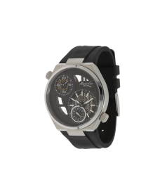 Kenneth Cole Men's KC1683 Black Polyurethane Quartz Watch