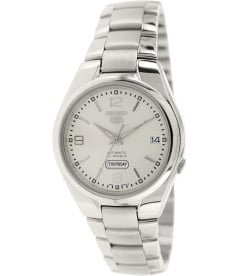Seiko Men's 5 Automatic SNK619K Silver Stainless-Steel Automatic Watch