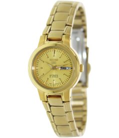 Seiko Women's 5 Automatic SYME46K Gold Gold Tone Stainles-Steel Automatic Watch