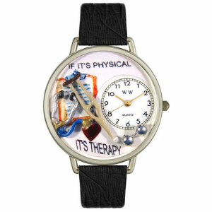 Whimsical Watches Unisex Physical Therapist in Silver Watch U0620022