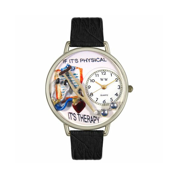 Whimsical Watches Unisex Physical Therapist in Silver Watch U0620022 - Main Image